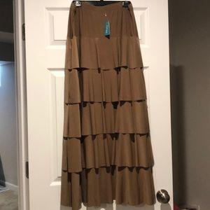 2x Junee Tiered Maxi Skirt